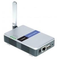 CISCO LINKSYS  KABLOSUZ G 2.4 GHz PRINT SERVER WPS54G
